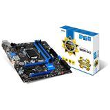 MSI B85M-G43 Intel B85 So.1150 Dual Channel DDR3 mATX Retail