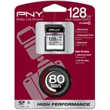 128 GB PNY High Performance SD128G10HIGPER80-EF SDXC Class 10 Retail
