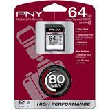64 GB PNY High Performance SD64G10HIGPER80-EF SDHC Class 10 Retail