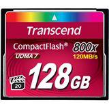 128 GB Transcend TS128GCF800 Compact Flash TypI 800x Retail
