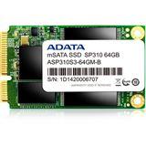128GB ADATA Premier Pro SP310 mSATA 6Gb/s MLC (ASP310S3-128GM-C)