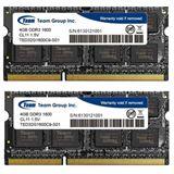 8GB TeamGroup Elite Series DDR3L-1600 SO-DIMM CL11 Dual Kit