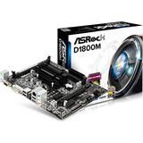 ASRock D1800M SoC So.BGA Dual Channel DDR3 mATX Retail
