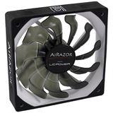 LC-Power AiRazor LC-CF-120-PRO 120x120x25mm 1200 U/min 14.6 dB(A) schwarz/grau
