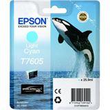 Epson T7605 hell cyan