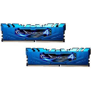 8GB G.Skill RipJaws 4 blau DDR4-3000 DIMM CL15 Dual Kit
