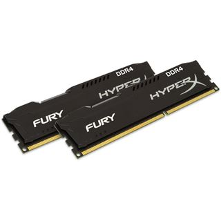 16GB HyperX FURY schwarz DDR4-2666 DIMM CL15 Dual Kit