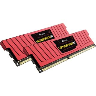 16GB Corsair Vengeance LP Red DDR3L-1600 DIMM CL9 Dual Kit