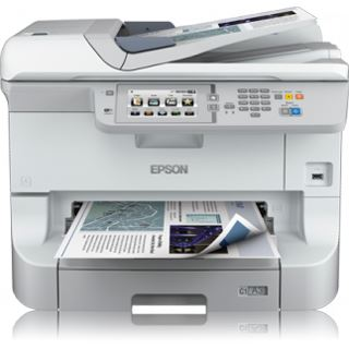 Epson WorkForce Pro WF-8590DWF Tinte Drucken / Scannen / Kopieren / Faxen USB 2.0 / WLAN