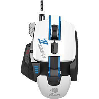 Cougar 700M Laser Gaming Maus eSports Edition USB weiß/blau (kabelgebunden)
