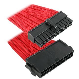 BitFenix 24-Pin ATX Verlängerung 30cm sleeved rot/schwarz