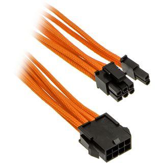 PHANTEKS 6+2-Pin PCIe Verlängerung 50cm - sleeved orange