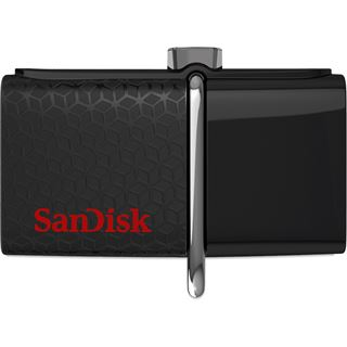 16 GB SanDisk Ultra Dual schwarz USB 3.0 und microUSB