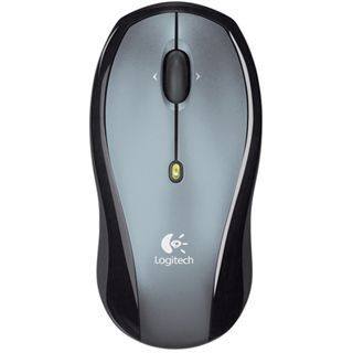 Logitech Wireless LX6 Optische Maus Schwarz PS2/USB