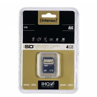 4 GB Intenso Standard SDHC Class 4 Retail