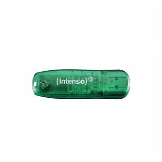 8 GB Intenso Rainbow Line gruen USB 2.0
