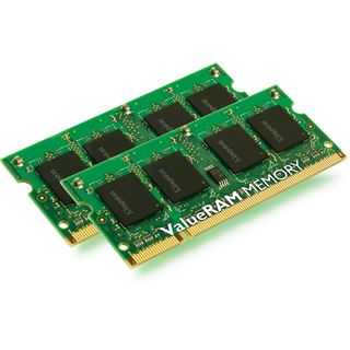 2GB Kingston ValueRAM DDR2-667 SO-DIMM CL5 Dual Kit