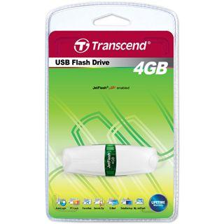 4 GB Transcend JetFlash V20 weiss USB 2.0