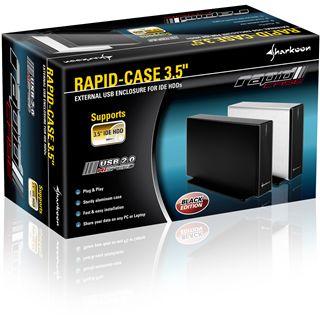 "Sharkoon Rapid-Case 3.5"" (8,89cm) USB 2.0 schwarz"