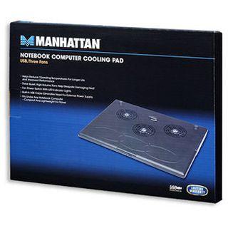 Manhattan Notebook Cooling Pad 3 Lüfter