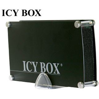 "ICY BOX IB-351AStU-B 3.5"" (8,89cm) USB 2.0 schwarz"