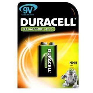 Duracell Akkus HR22 Nickel-Metall-Hydrid E Block Akku 170 mAh 1er Pack