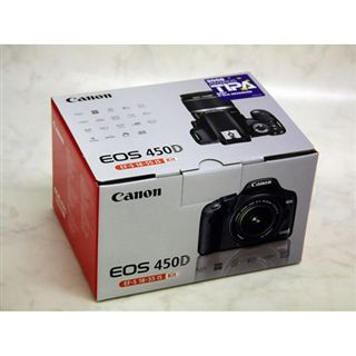 Canon EOS 450D Kit inkl. EF-S 18-55mm IS
