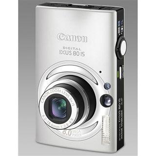 "Canon Digital Ixus 80 IS 8MPix 3fach opt. Zoom 2,5"" LCD silber"