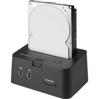 """Sharkoon SATA Quickport Pro USB 2.0 Dockingstation für 2.5"""" und 3.5"""" Festplatten (4044951008209)"""