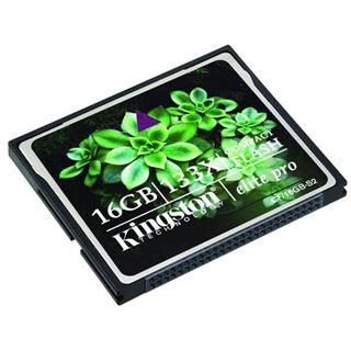 16 GB Kingston Elite Pro Compact Flash TypI 133x Bulk