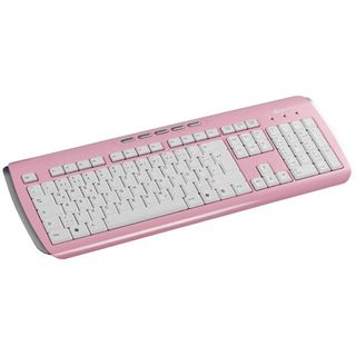 Zignum MM 807 Tastatur Pink Deutsch USB