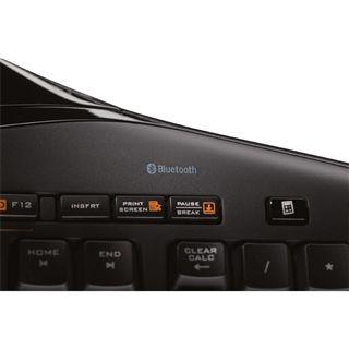 Logitech Cordless Desktop MX 5500 Revolution Tastatur+Maus Schwarz Deutsch USB