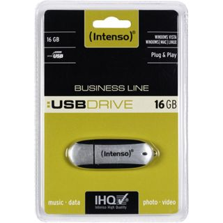 16 GB Intenso Business Line silber USB 2.0