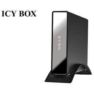 """3.5""""(8,89cm) Icy Box IB-390StUS-B SATA/eSATA USB 2.0 Schwarz"""