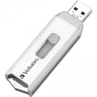 4GB Verbatim Store 'n' Go Executive Grau/Weiß USB 2.0 Stick