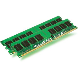 2GB Kingston ValueRAM DDR2-800 DIMM CL6 Dual Kit
