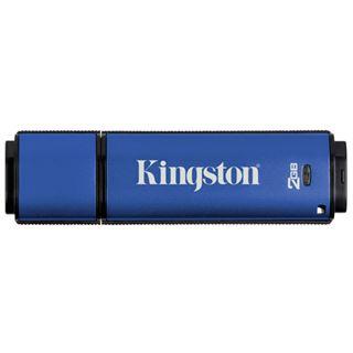 2 GB Kingston DataTraveler Vault Privacy Edition blau USB 2.0