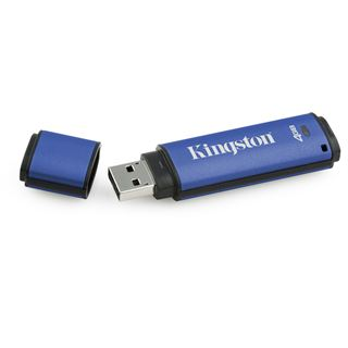 4 GB Kingston DataTraveler Vault Privacy Edition blau USB 2.0