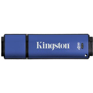 4 GB Kingston DataTraveler Vault Privacy Edition blau USB 2.0