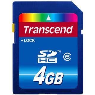 4 GB Transcend Standard SDHC Class 6 Retail