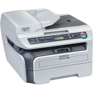 Brother DCP-7045N Multifunktion Laser Drucker 2400x600dpi LAN/USB2.0