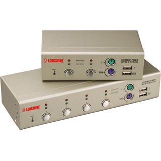 Longshine LCS-K702 2-fach Desktop KVM-Switch
