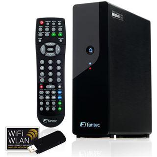 "3.5"" (8,89cm) Fantec MM-HDRL WiFi WLAN Media Recorder SATA HDMI Schwarz"