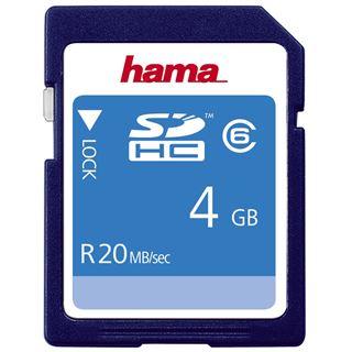 4 GB Hama High Speed SDHC Class 6 Retail