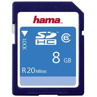 8 GB Hama High Speed SDHC Class 6 Bulk