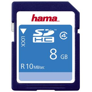 8 GB Hama High Speed SDHC Class 4 Bulk