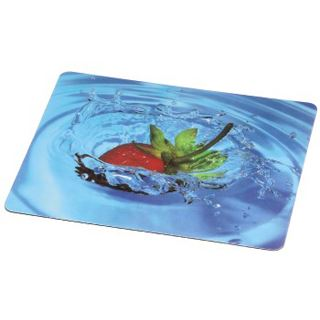 Hama Mauspad 50227 Silk Pad Strawberry Design
