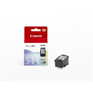 Canon Tinte CL-511 2972B001 cyan, magenta, gelb