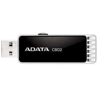 8GB ADATA Classic Series C802 Schwarz USB 2.0 Stick