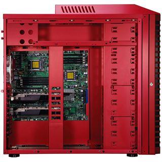 ATX Big Lian LI ARMORSUIT PC-P80R Rot (ohne Netzteil)